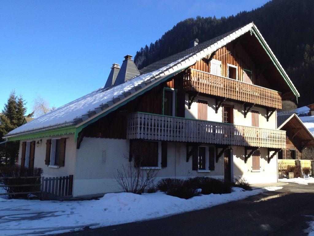 Chalet Alys; luxury ski chalet