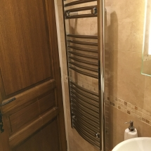 Heated towel rail chambre la foret