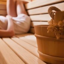 Forme d'O sauna
