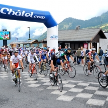 Cycling event in Chatel