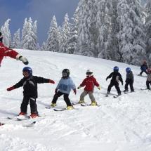 Ski lesson in Abondance