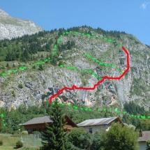 Rock climbing map