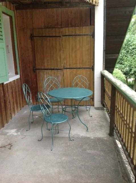 Breakfast terrace chalet alys for Breakfast terrace