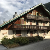 Chalet Alys in September sunshine