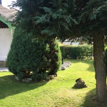 Chalet Alys Garden Trees